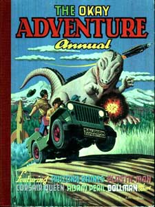 The Okay Adventure Annual, by Denis McLoughlin