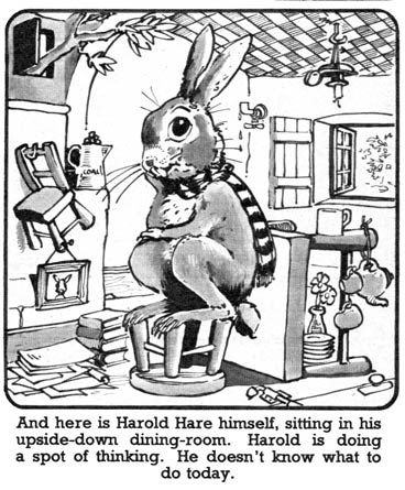 Harold Hare by Hugh McNeill