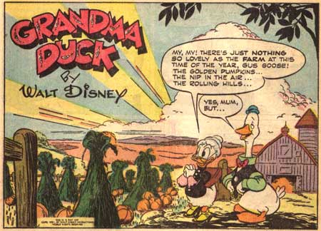 Grandma Duck by Frank McSavage