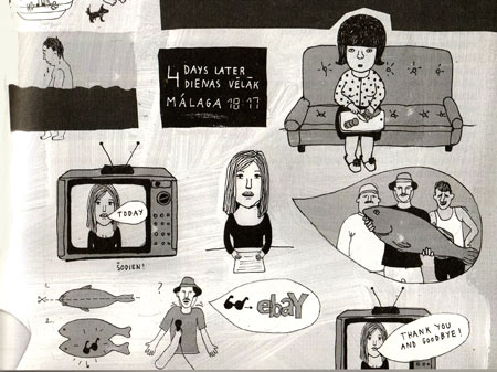 comic for the Tell Me More anthology by Anete Melece