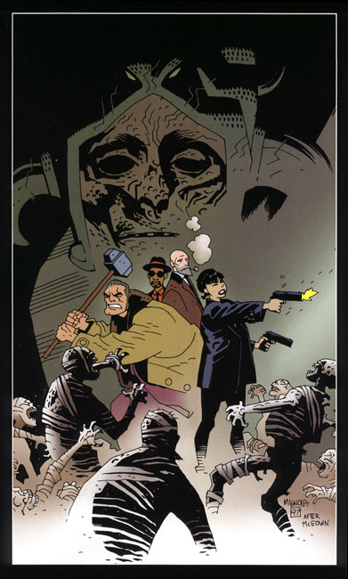 Zombie World, by Mike Mignola with Pat McEown