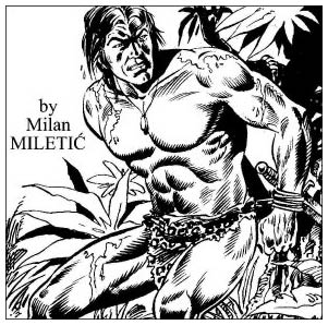 Tarzan by Milan Miletic