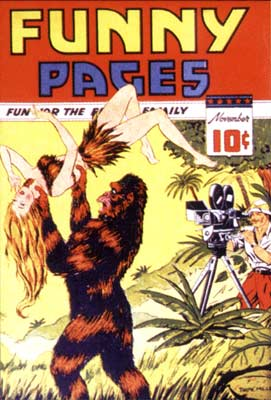 Funny Page Cover, by Tarpe Mills