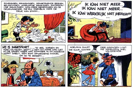 Modeste et Pompon, by Mittei (Dutch edition, Kuifje #48, 1971)