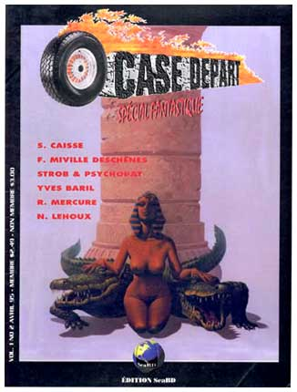 Case Depart cover by François Miville-Deschênes