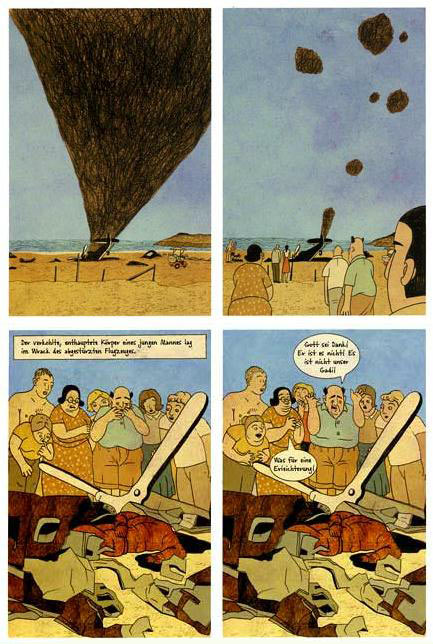 comic art by Rutu Modan