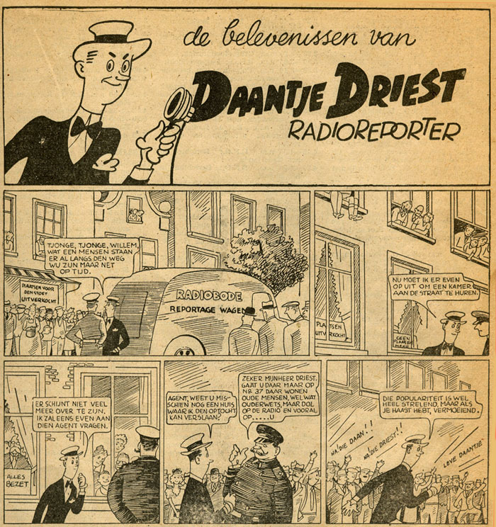 Daantje Driest, by A. Molenaar