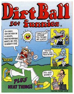Dirt Ball Funnies, by Dan Molidor