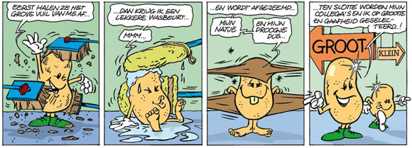 Potato comic by Joop Mommers