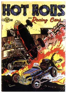 Hot Rods and Racing Cars, by Lou Morales