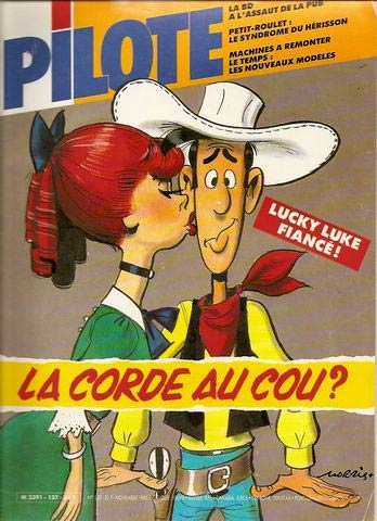 Pilote cover by Morris