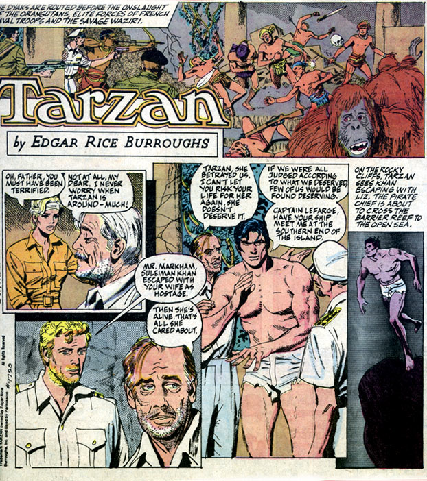 Tarzan, by Gray Morrow
