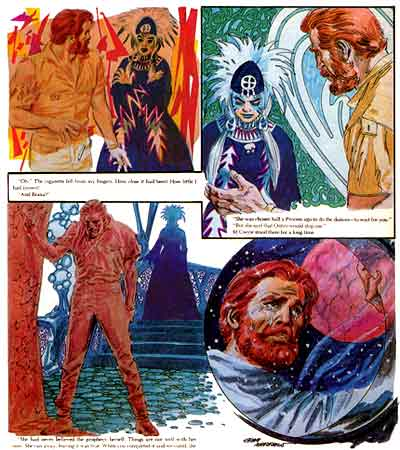 The Illustrated Robert Zelazny, by Gray Morrow