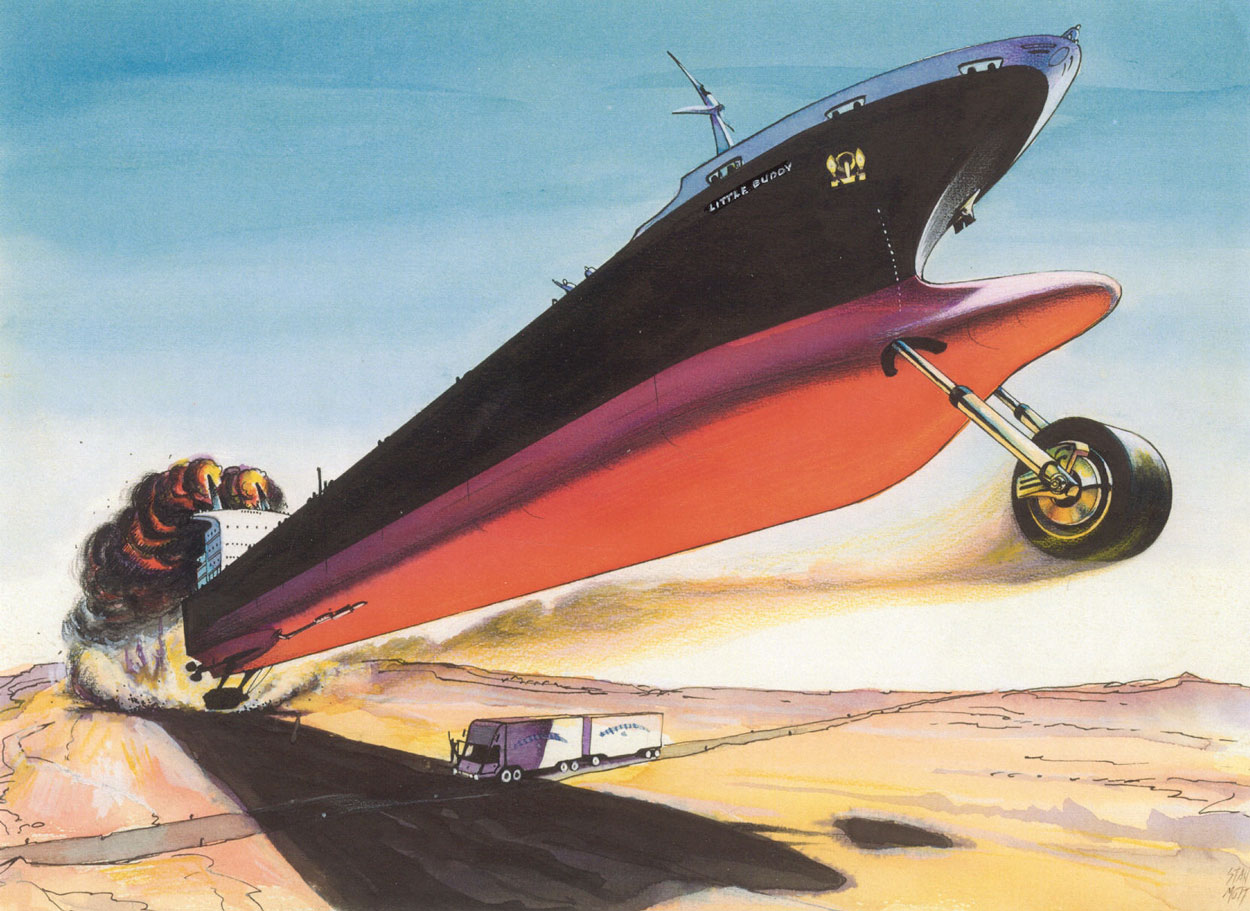 Super Tanker Chopper by Stan Mott