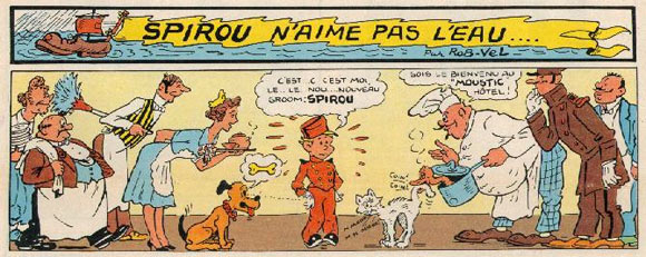 Spirou by Rob-Vel
