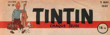 early Tintin masthead
