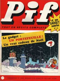 Pif Gadget cover, by Jean Tabary