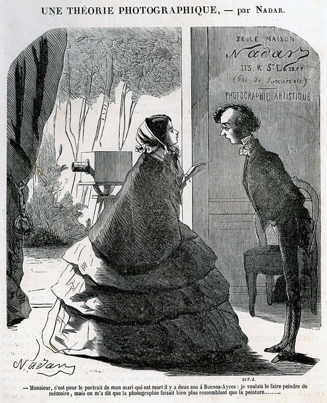 Cartoon by Nadar