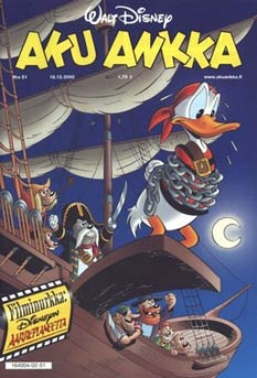 Donald Duck cover, by Michel Nadorp