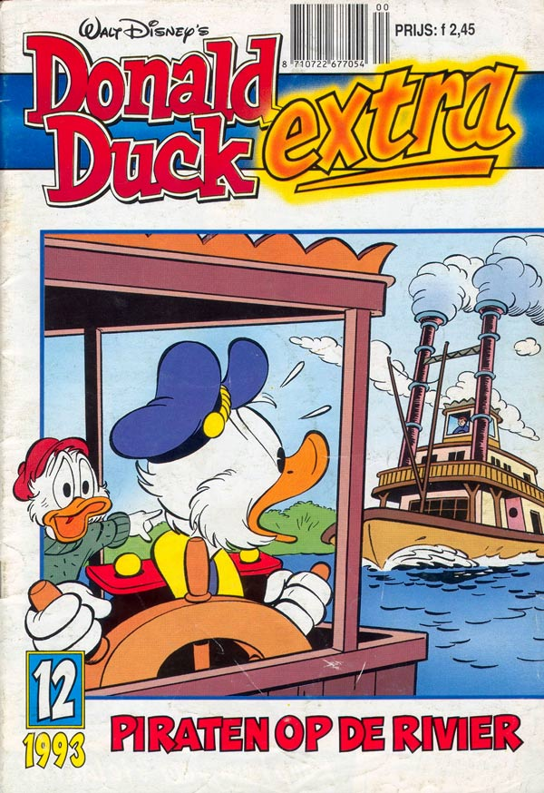 Donald Duck Extra cover by Michel Nadorp