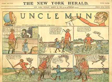 Uncle Mun, by Fred Nankivel 1910