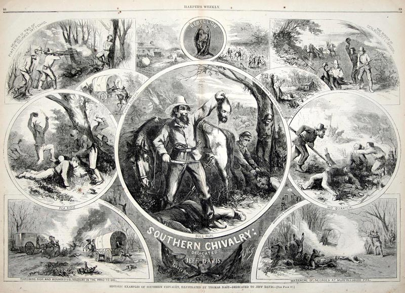 Southern Chivalry by Thomas Nast