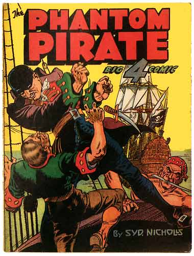 The Phantom Pirate, by Syd Nicholls