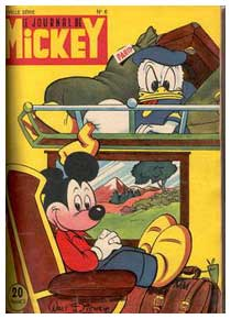 Cover for Le Journal de Mickey, by Pierre Nicolas