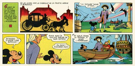 Mickey a Travers des Siecles, by Pierre Nicolas