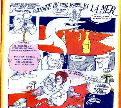 comic from Zinc, by Gilles Nicoulaud