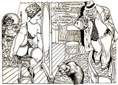 from Comix Internacional, by Carlos Nine (1984)