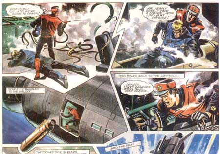 Captain Scarlet by Mike Noble
