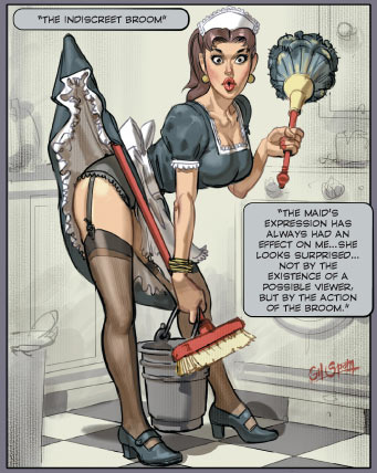 Pin-up artist by Ignacio Noe