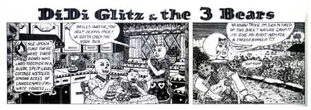 Didi Glitz & the 3 Bears, by Diane Noomin