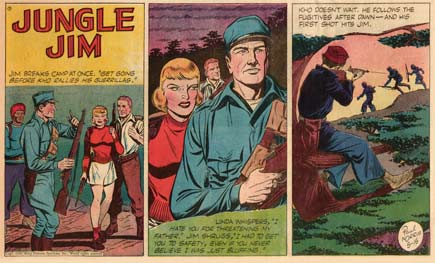 Jungle Jim, by Paul Norris (1949)