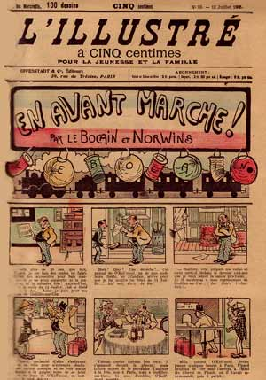 comic art by Norwins (1905)