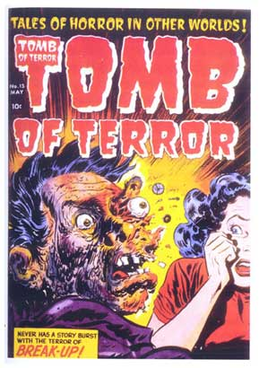 Tomb of Terror cover, by Howard Nostrand