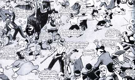 comic from TBO, by Ricard Opisso (1947)