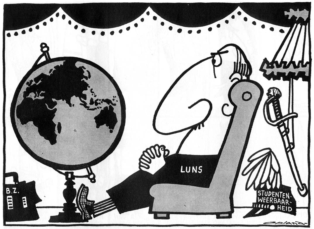 Cartoon from 11/8/1962, by Opland
