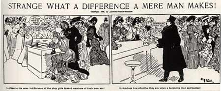 Strange What a Difference a Mere Man Makes! 1905