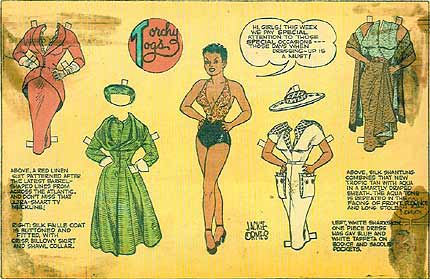 Torchy's Togs, by Jackie Ormes 1950