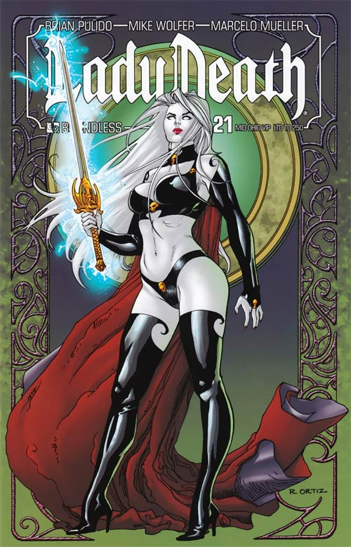 Lady Death by Richard Ortiz