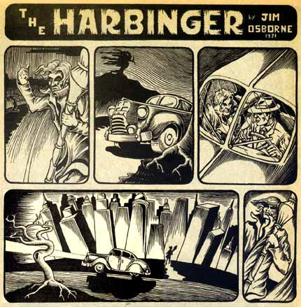 The Harbinger, by Jim Osborne, 1971