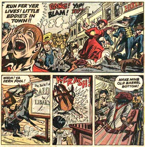 The Crisco Keed (The Three Stooges #7, Oct. 1954) by William Overgard
