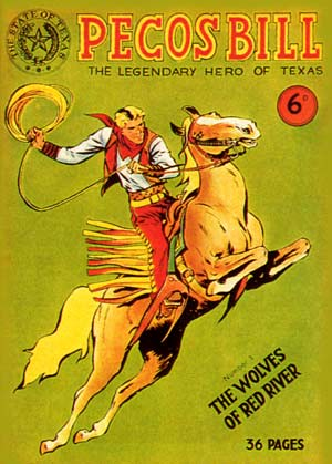 Pecos Bill, by Rafaele Paparella (1951)
