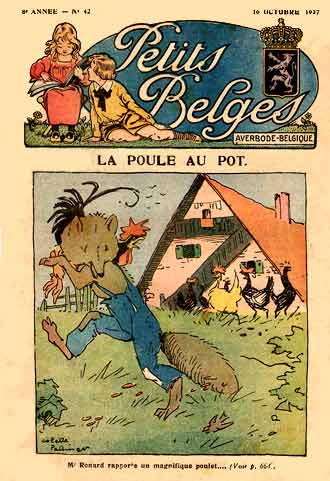 from Petits Belges, by Collette Pattinger