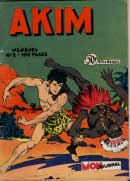 Akim cover, by Augusto Pedrazza