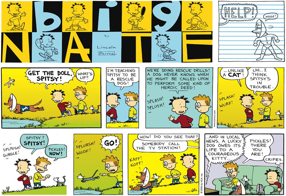 Big Nate, by Lincoln Peirce