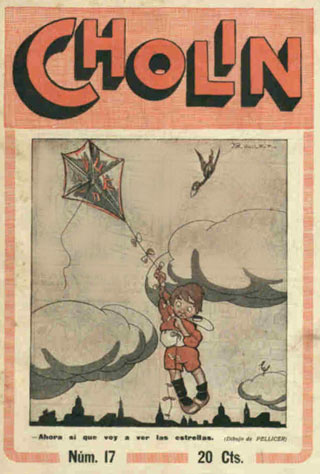 cover for Cholin, by Pellicer