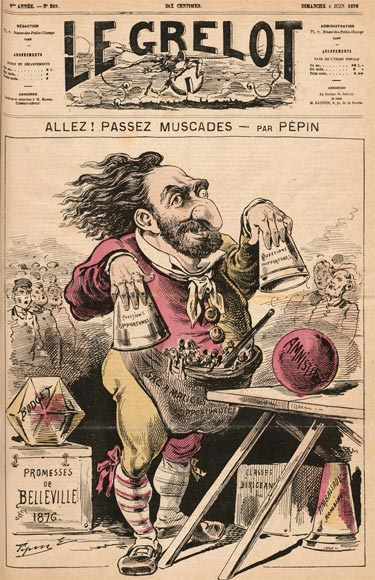 Cover for Le Grelot by Pépin